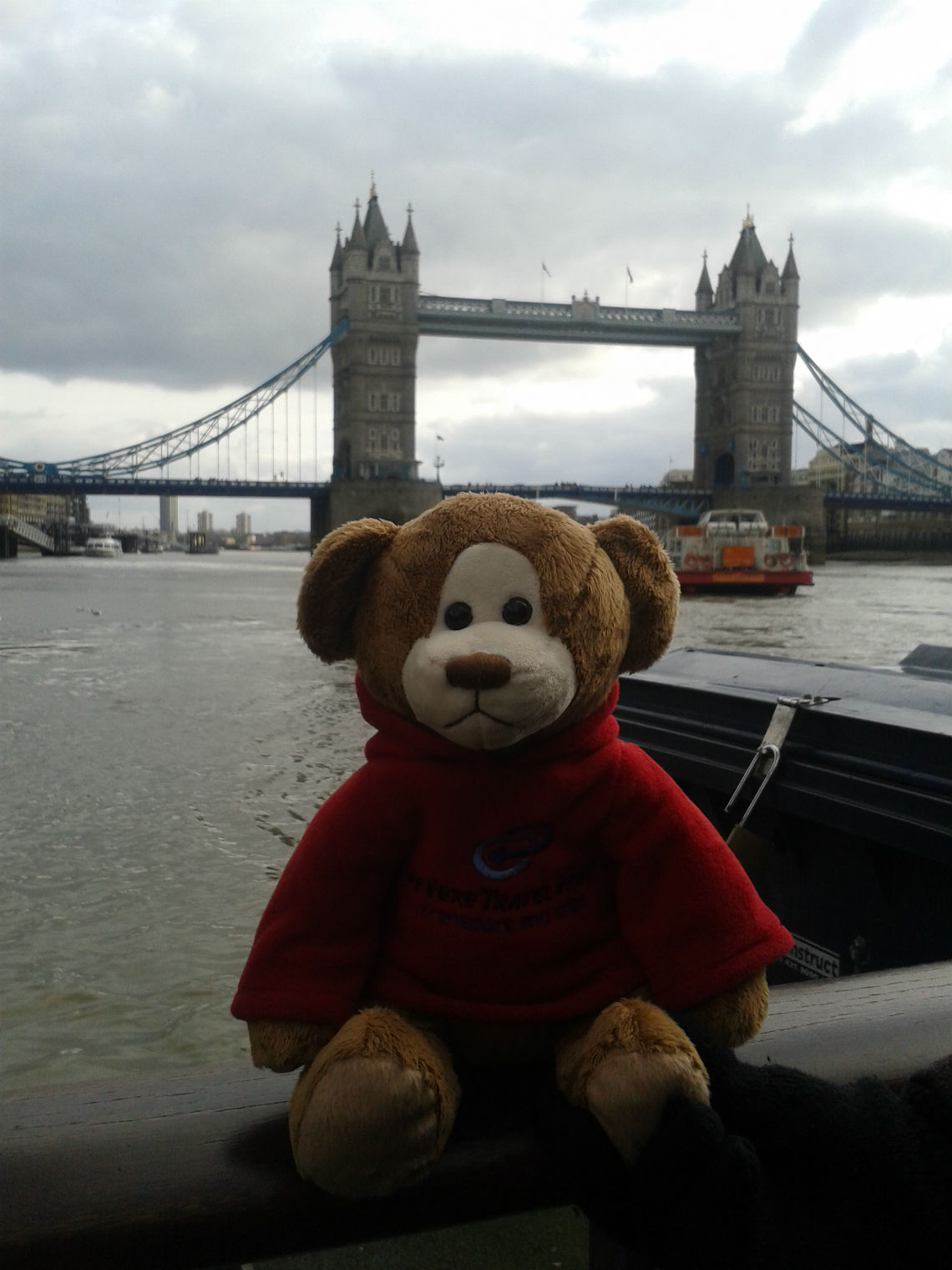 Denzil at Tower Bridge