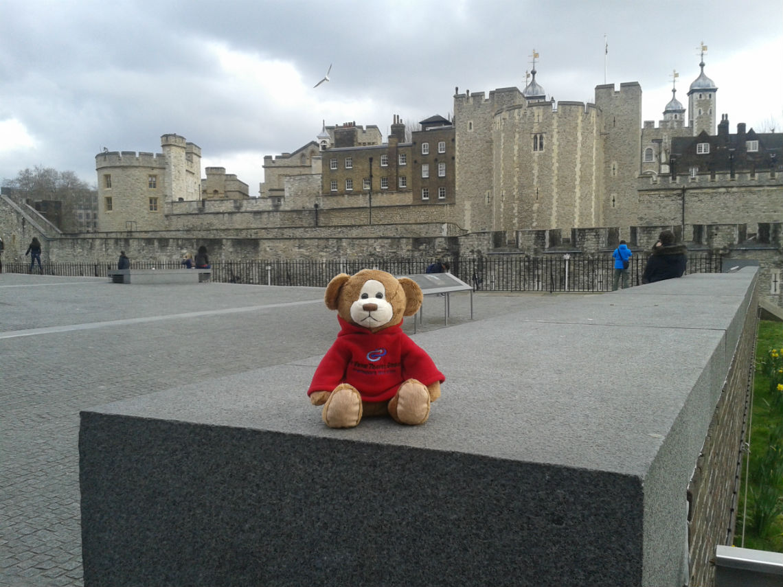 Denzil at Tower of London